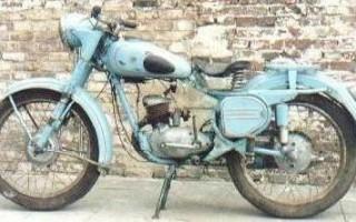 Мотоцикл 125LC2 (1997): технические характеристики, фото, видео