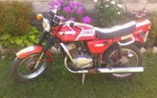 Мотоцикл Ява лошадиные силы