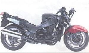 Мотоцикл GPZ 1000 RX (reduced effect) 1988: технические характеристики, фото, видео