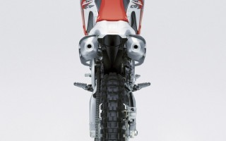 Кроссовый мотоцикл хонда