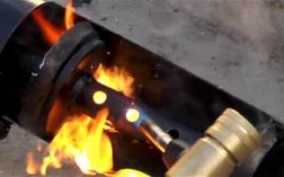 как прочистить глушитель на Скутере Хонда дио