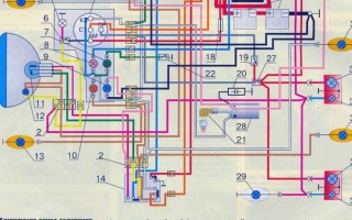 Схема передач в Мотоцикла Планета 3