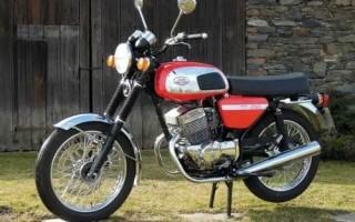 Мотоцикл Ява 250 350