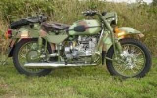 История Мотоцикла Урал