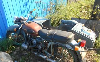 Мотоцикл Урал в нижнем новгороде