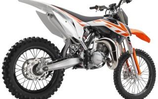 Мотоцикл 50SX Mini (2011): технические характеристики, фото, видео