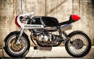 Мотоцикл БМВ р 12 в деталях