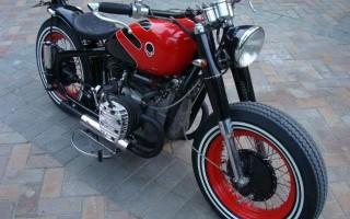 Китайский Мотоцикл днепр