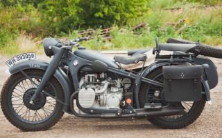 Мотоциклы БМВ времен второй мировой