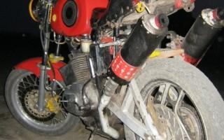 Звук Мотоцикла иж Планета 5