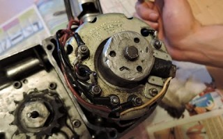 Мотоцикл Минск крышка сальника