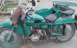Мотоцикл Урал м 67 36 характеристики