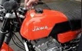 Восстановление Мотоцикла Ява