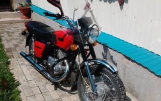 Греется Мотоцикл Минск
