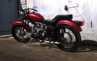 Мотоцикл днепр подставка