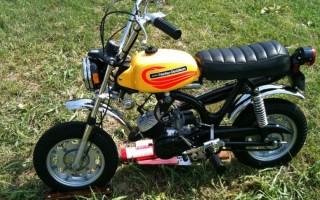 Скутер Harley Davidson