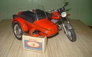 Масштабные модели 1 43 Мотоцикл Ява