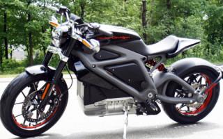 Электромотоцикл Harley Davidson