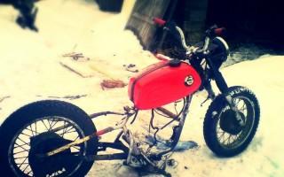 Что можно сделать из восхода Мотоцикла