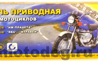Шаг цепи Мотоцикла Минск