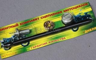Как поставить сцепление на Мотоцикл Урал