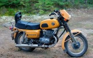 Характеристики Мотоцикла восход 3