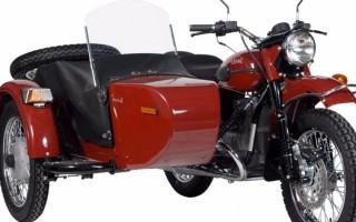 Мотоциклы Урал в нижнем