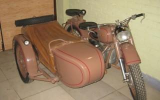 Мотоцикл Урал учет