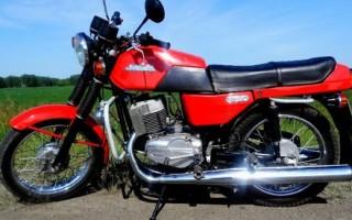 Мотоцикл Ява jawa