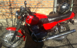 Мотоцикл Ява 12в