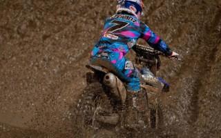Кроссовый Мотоцикл по грязи
