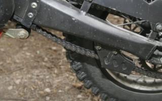 Натяжка цепи Мотоцикла Эндуро