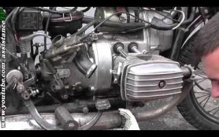 Мотоцикл Урал замена клапанов