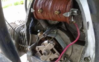 Как подключить зажигание на Мотоцикле Урал