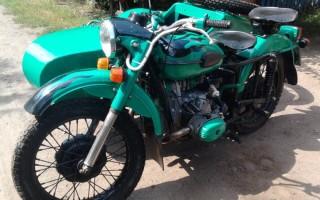 Мотоцикл Урал 103 10