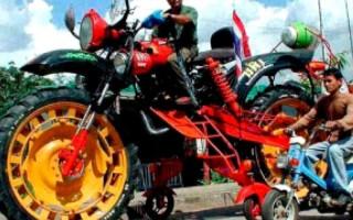 Классы кроссовых Мотоциклов