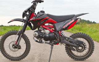 Кроссовый Мотоцикл irbis ttr