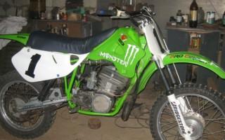 Четырехтактный мотор на Кроссовый Мотоцикл чезет 125