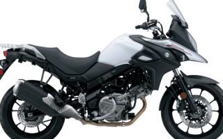 Suzuki v Strom 650 2017
