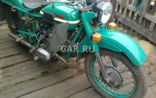 Мотоцикл Урал м 67