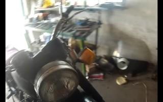 Сборка вилки Мотоцикла Урал