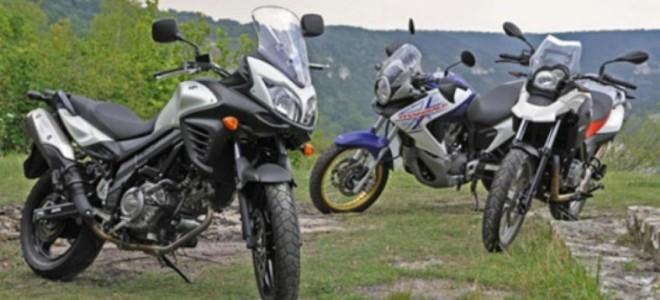 Отзывы Suzuki v Strom или honda transalp