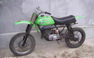 Кроссовый Мотоцикл Минск