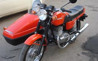 Мотоцикл Ява 638 люкс