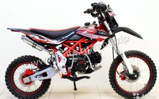 Кроссовый Мотоцикл Эндуро 250 кубов в павлове
