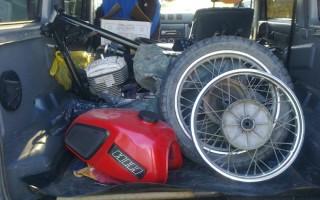 Как завести Мотоцикл Планета 5