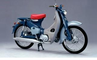 Скутер Honda super cub