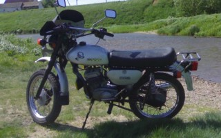 Е1 Мотоцикл Минск