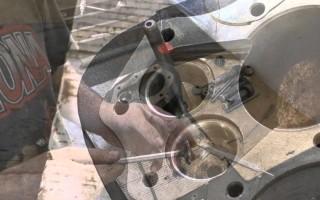 Притирка клапанов на Мотоцикле Урал