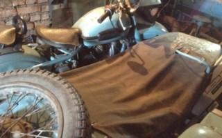 Мотоцикл Урал 1991 года